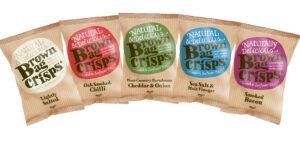 Brown Bag Crisps logo