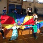 Fresh Kids Parties Parachute game